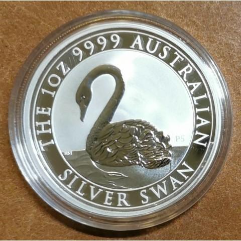 1 dollar Australia 2021 - Silver swan (1 oz. Ag)