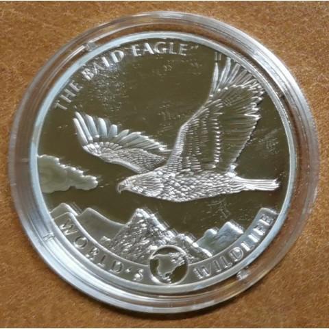 20 Francs Congo 2021 - Bald eagle (1 oz. Ag)