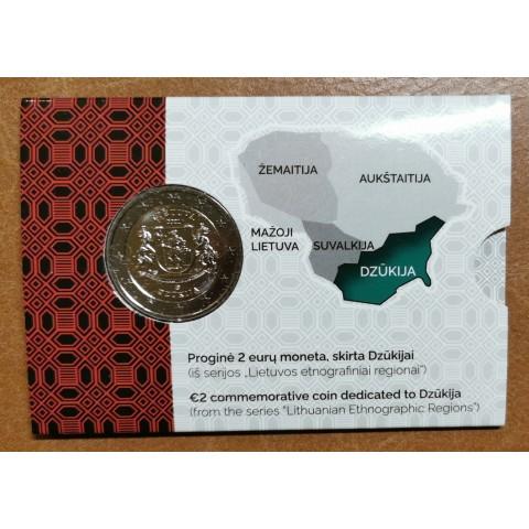 2 Euro Litva 2021 - Dzūkija (BU)
