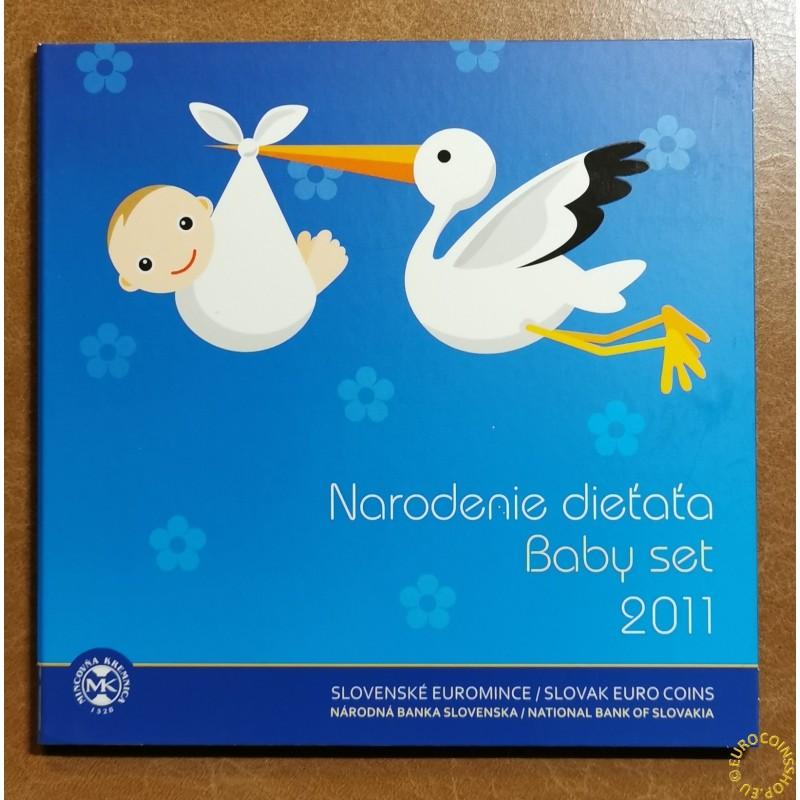 "Set of Slovak coins 2011 ""Baby set"""