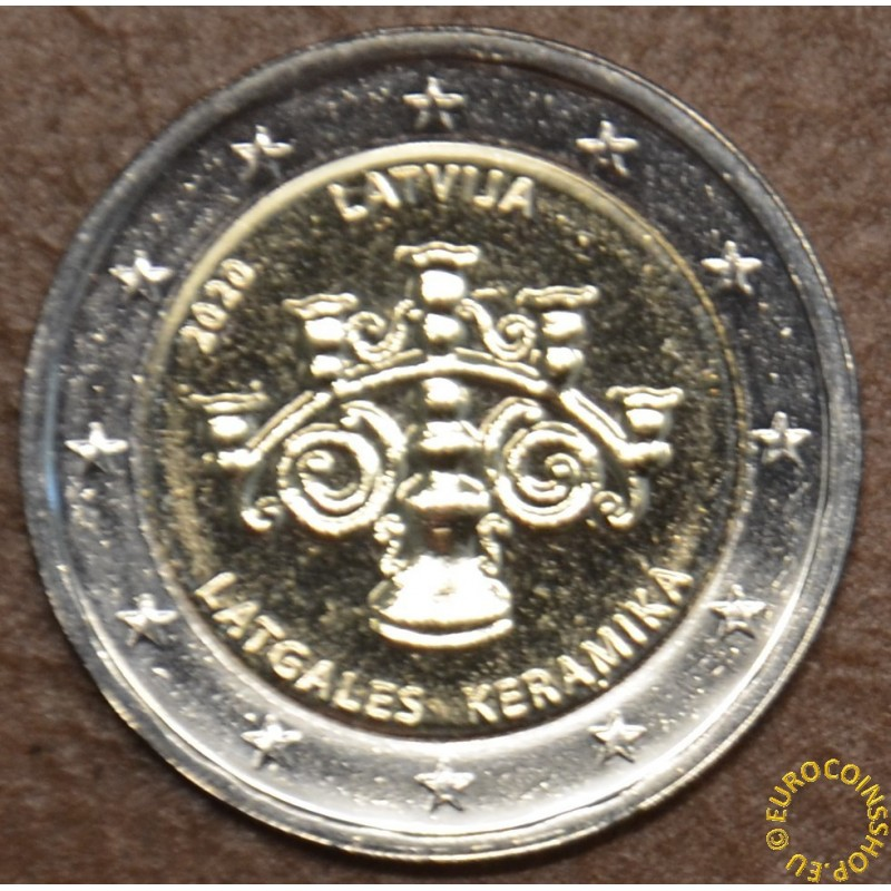 2 Euro Latvia 2020 - The Latgalian Ceramics (BU)