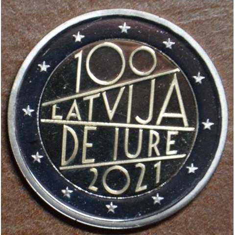 Presale 2 Euro Latvia 2021 - The 100th anniversary of Latvia's international recognition (UNC)