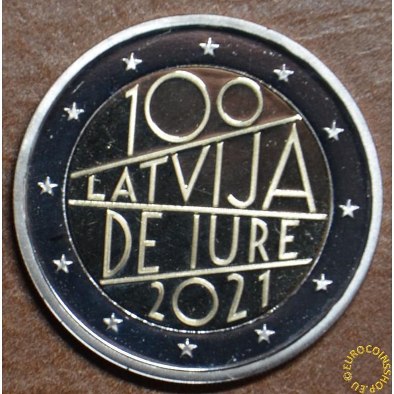 2 Euro Latvia 2021 - The 100th anniversary of Latvia's international recognition (BU)