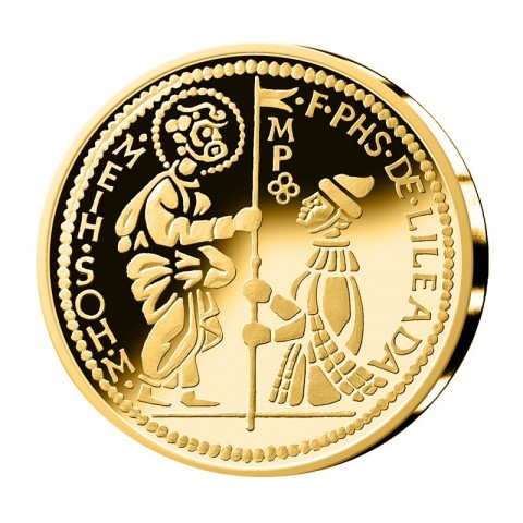 5 Euro Malta 2014 - Gold 'Zecchio' (Proof)