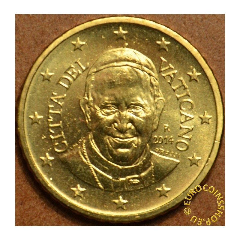 50 cent Vatican 2014 (UNC)