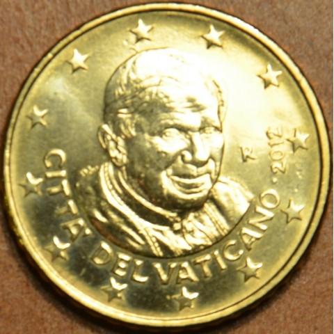 50 cent Vatican 2012 (UNC)