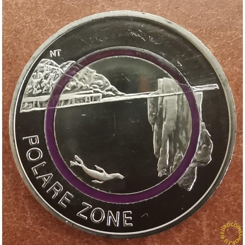 "5 Euro Germany ""F"" 2021 Polar Zone (UNC)"