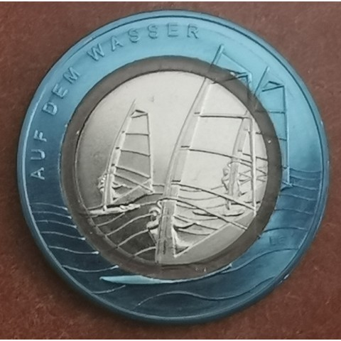 """10 Euro Germany """"F"""" 2021 In the water (UNC)"""
