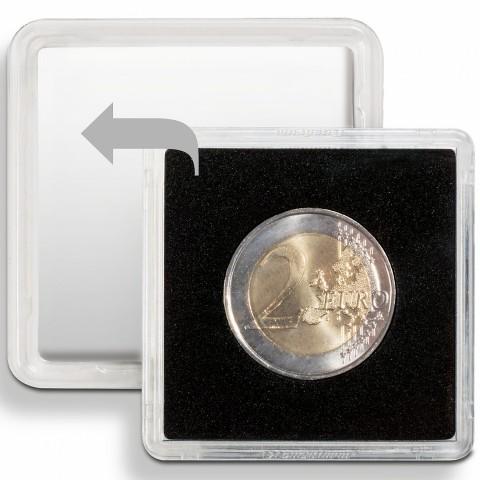 26 mm Leuchtturm Quadrum capsula for 2 euro coin
