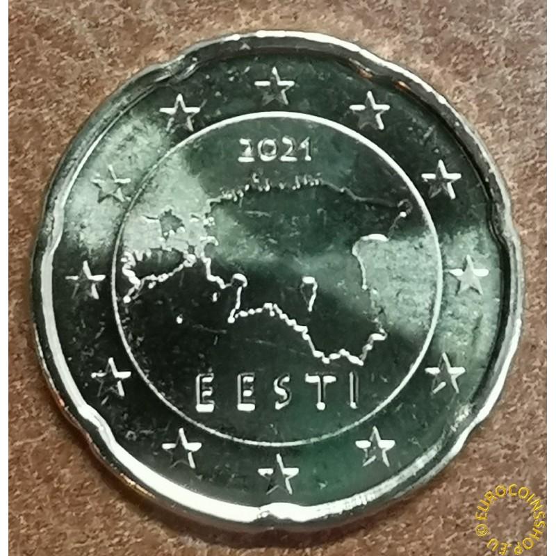 20 cent Estonia 2021 (UNC)