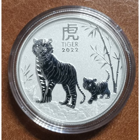 50 cent Australia 2022 -  Year of the Tiger (1/2 oz. Ag)