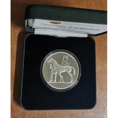 15 Euro Ireland 2010 - Horse (Proof)