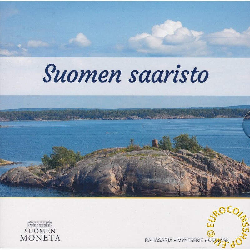 Finland 2021 set of 8 coins - The finnish archipelago (BU)