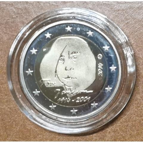 2 Euro Finland 2014 - Tove Jansson (Proof in capsula)