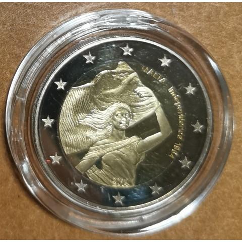2 Euro Malta - Independency 1964 (Proof in capsula)