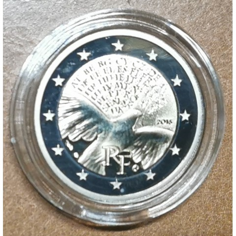 2 Euro France 2015 - Peace in Europe (Proof in capsula)
