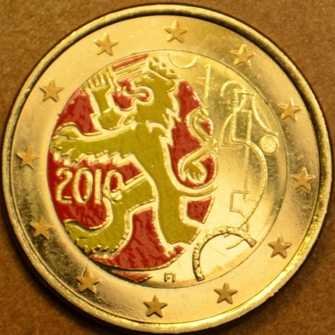 2 Euro Finland 2010 - 150th anniversary of Finnish currency (colored UNC)