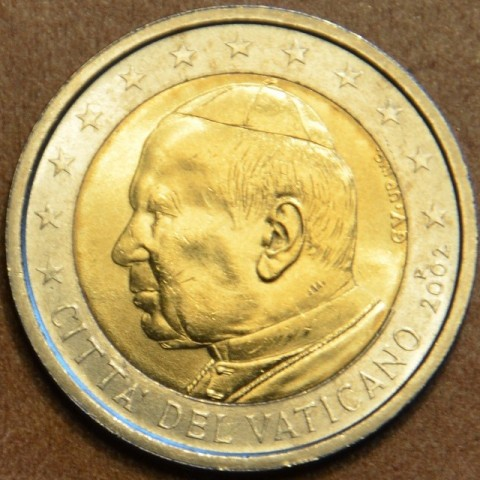 2 Euro Vatican His Holiness Pope John Paul II 2002 (BU)
