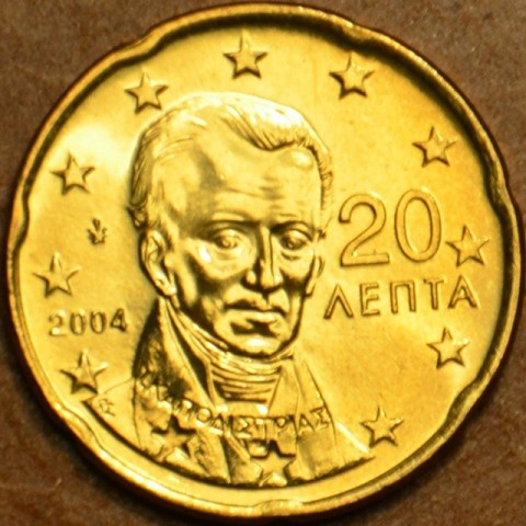 20 cent Greece 2004 (UNC)