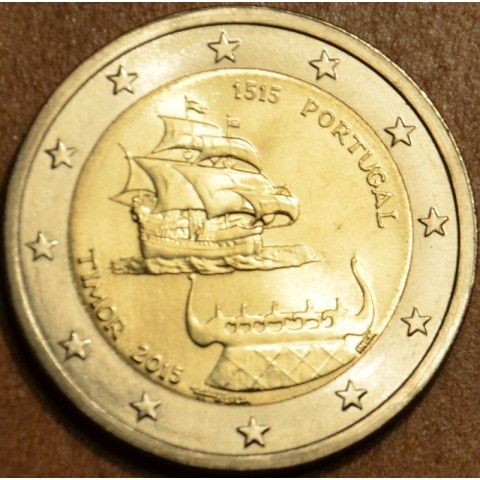 2 Euro Portugal 2015 - 500 years the Timor (UNC)