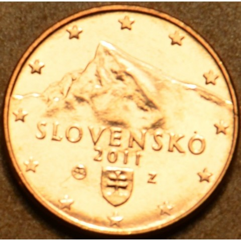 1 cent Slovakia 2011 (UNC)