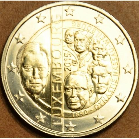 2 Euro Luxembourg 2015 - Dynasty Nassau-Weilburg (UNC)