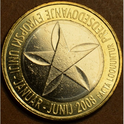 Commemorative coin 3 Euro Slovenia 2008 (UNC)