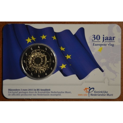 2 Euro Netherlands 2015 - 30 years of European flag (BU)