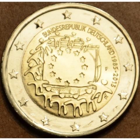"2 Euro Germany ""F"" 2015 - 30 years of European flag (UNC)"