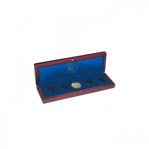 Leuchtturm Volterra small wooden box for 5 coins