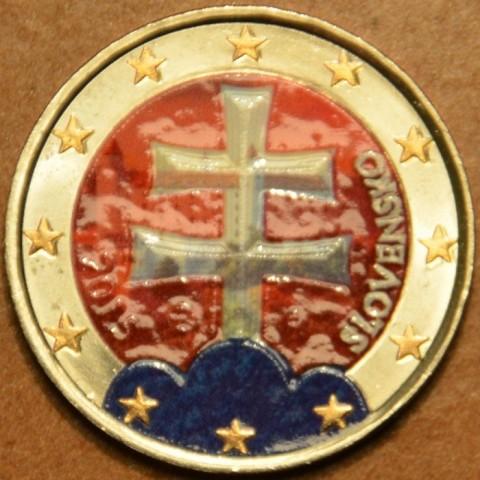 2 Euro Slovakia 2015 (colored UNC)