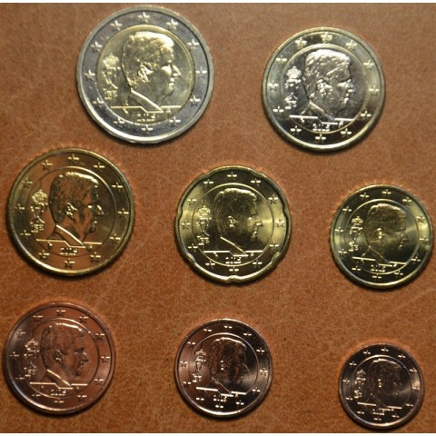 Set of 8 coins Belgium 2015 (UNC)
