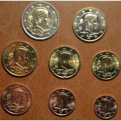 Set of 8 coins Belgium 2015 (UNC)