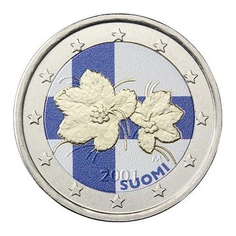 2 Euro Finland (colored UNC)