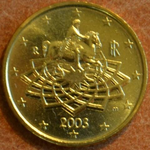50 cent Italy 2003 (UNC)