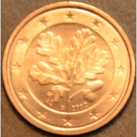"""2 cent Germany """"G"""" 2002 (UNC)"""
