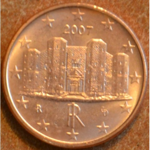 1 cent Italy 2007 (UNC)
