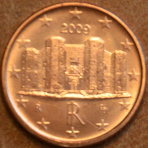 1 cent Italy 2009 (UNC)