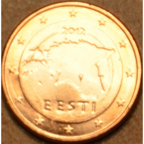 1 cent Estonia 2012 (UNC)