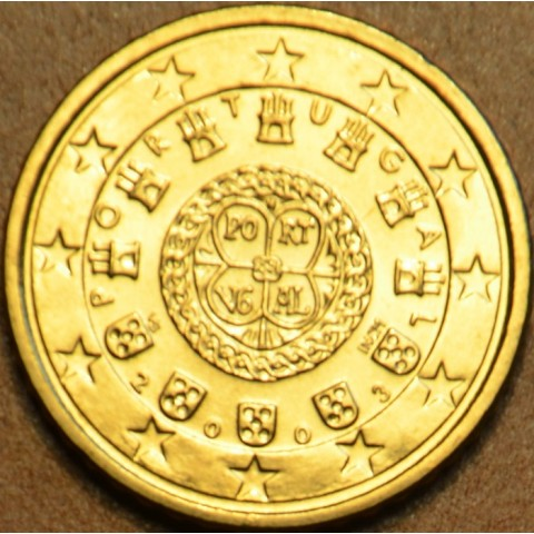 50 cent Portugal 2003 (UNC)