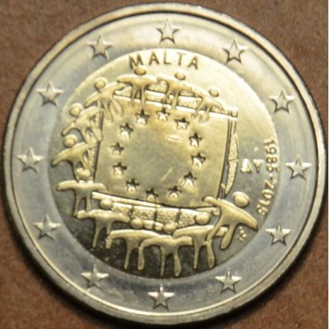 2 Euro Malta 2015 - 30 years of European flag (UNC)