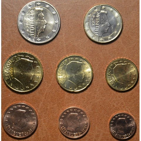 Set of 8 coins Luxembourg 2012 (UNC)