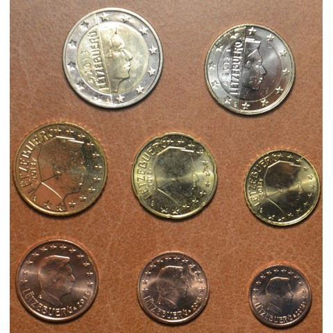 Set of 8 coins Luxembourg 2013 (UNC)