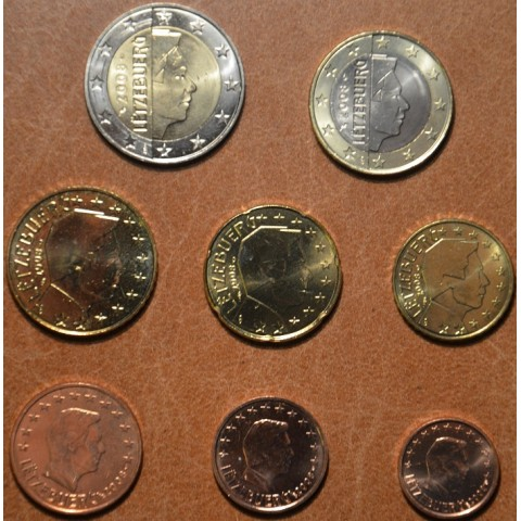 Set of 8 coins Luxembourg 2008 (UNC)