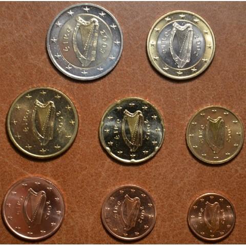 Set of 8 coins Ireland 2002 (UNC)