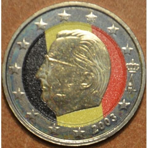 2 Euro Belgium Albert (colored UNC)