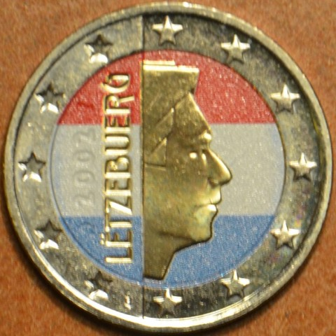 2 Euro Luxembourg - Henry I. (colored UNC)