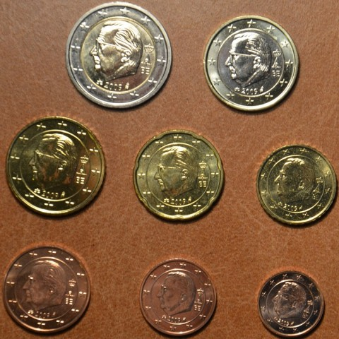 Set of 8 coins Belgium 2009 (UNC)