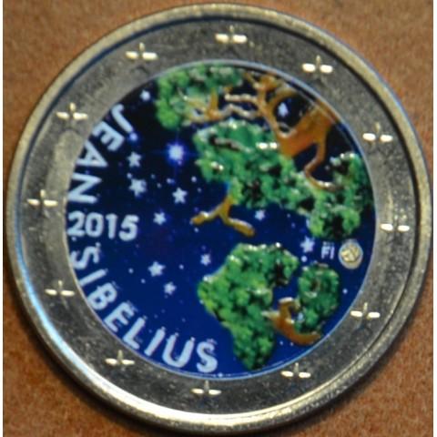 2 Euro Finland 2015 - Jean Sibelius II. (colored UNC)