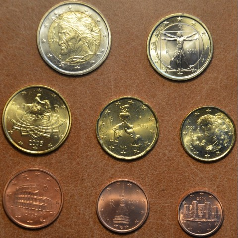 Set of 8 coins Italy 2006 (UNC)